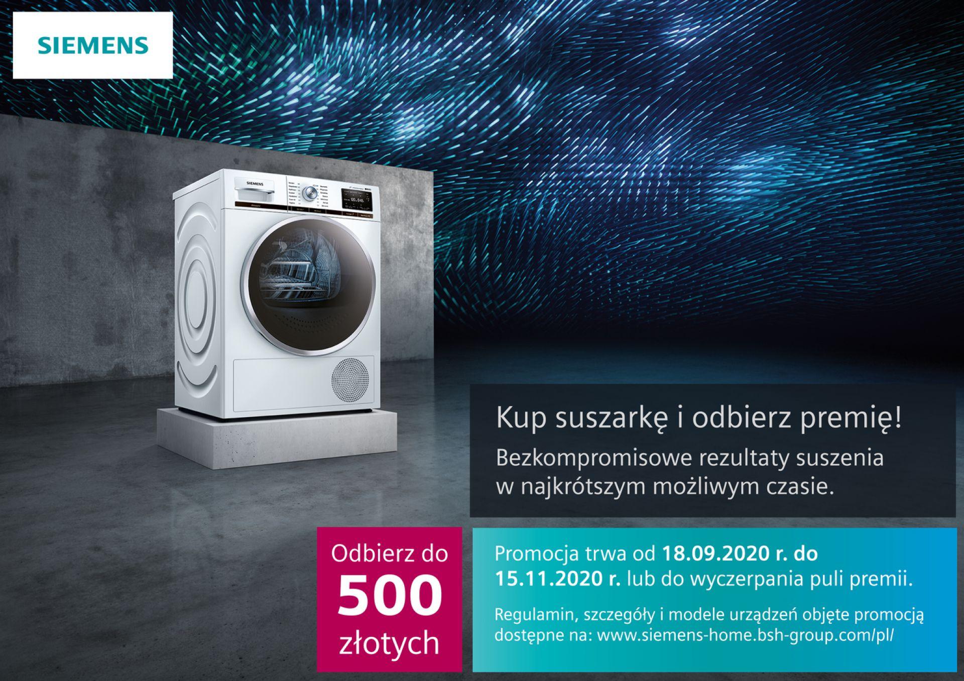 Promocja Suszarek Siemens